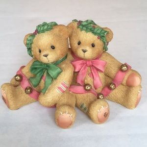 "Cherished Teddies ""Bonnie and Harold #466301"